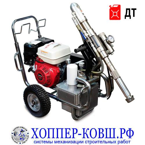 ASTECH ASM-G14 D дизельный гидропоршневой шпаклевочно-окрасочный аппарат