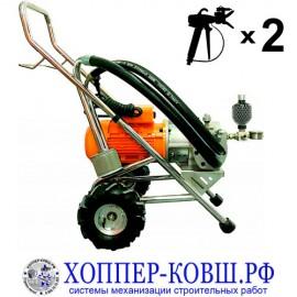 Аппарат безвоздушной покраски ASpro-7100 (на 2 маляра)