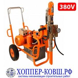 ASPRO-13000 380V гидропоршневой шпаклевочно-окрасочный аппарат