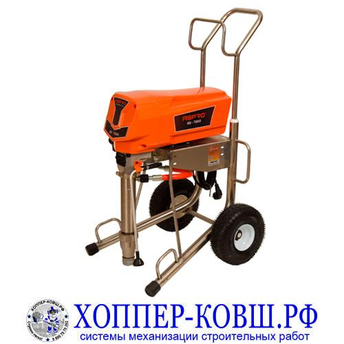 ASpro-7200 безвоздушный аппарат для шпаклевки, огнезащиты, теплоизоляции