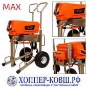 ASpro-7200 MAX безвоздушный аппарат для шпаклевки, огнезащиты, теплоизоляции