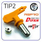 Trade TIP2 сопла для китайский аппаратов ASPRO, HYVST, ASTECH