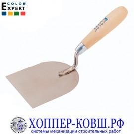 Кельма-лопатка 100 мм COLOR EXPERT из нержавеющей стали