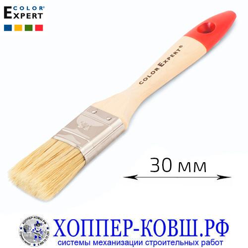 Кисть флейцевая смешанная щетина 30 мм COLOR EXPERT