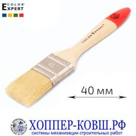 Кисть флейцевая смешанная щетина 40 мм COLOR EXPERT