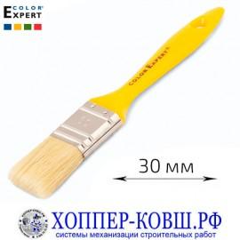 Кисть плоская смешанная щетина 30 мм COLOR EXPERT