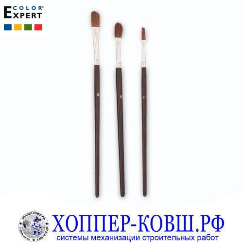 Набор кистей для всех видов красок 4-8 мм COLOR EXPERT