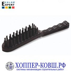 Щетка стальная 4 ряда щетины COLOR EXPERT