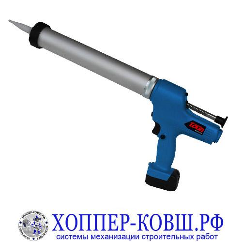 Аккумуляторный пистолет для герметика и клея Toua DCG72-600
