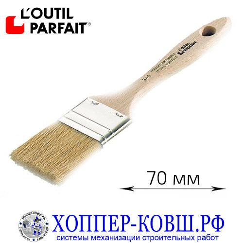 Кисть флейцевая смешанная щетина 70 мм L'outil Parfait