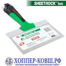 """Шпатель SHEETROCK Matrix 8"""" с прямыми краями 20,32 см"""
