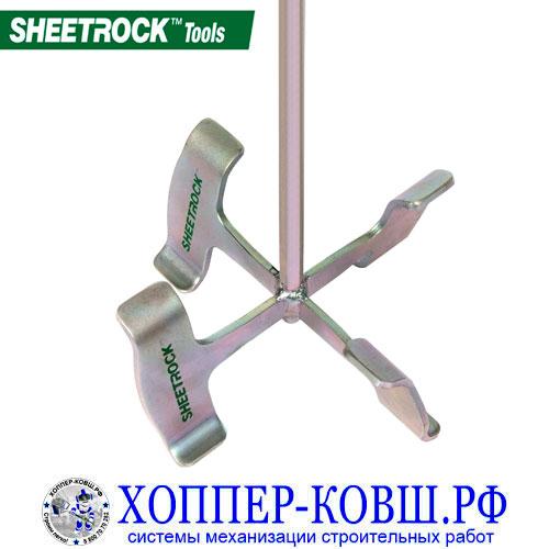 """Венчик для шпатлёвки SHEETROCK 30"""" для дрели"""