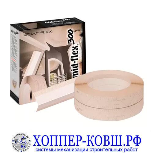 STRAIT-FLEX MID-FLEX 300 пластиковая лента с силиконовым округлым углом