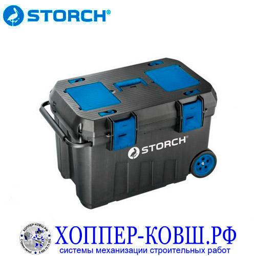 Ящик STORCH PROFI на колесах 595*380*420 мм 291023