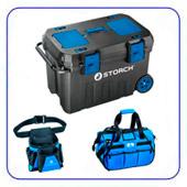 Ящики, сумки для хранения инструмента