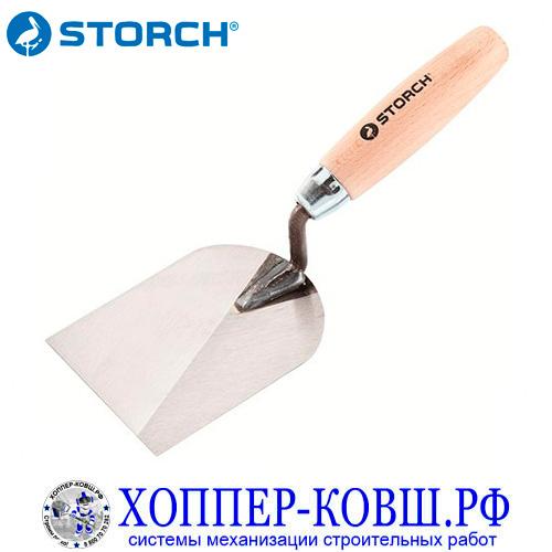 Кельма-лопатка 100 мм STORCH из нержавеющей стали