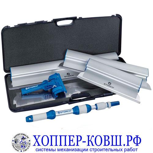 Набор шпателей STORCH в кейсе Set Flexogrip AluSTAR im Koffer