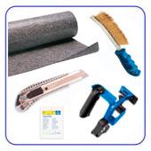 Материал, инструмент для подготовки поверхности
