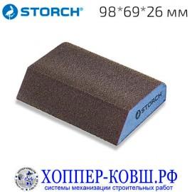Шлифовальная губка STORCH специальная 98*69*26 мм мелкая 470203