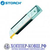 STORCH GoldCut сменные лезвия для ножа 18 мм -10 шт. в футляре 356380