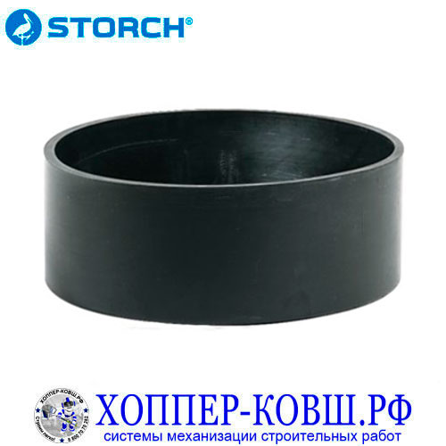Ванночка STORCH резиновая 150 мм для гипсовых смесей и шпаклевки 280206
