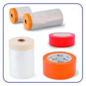 Малярная лента, скотч - защита поверхности