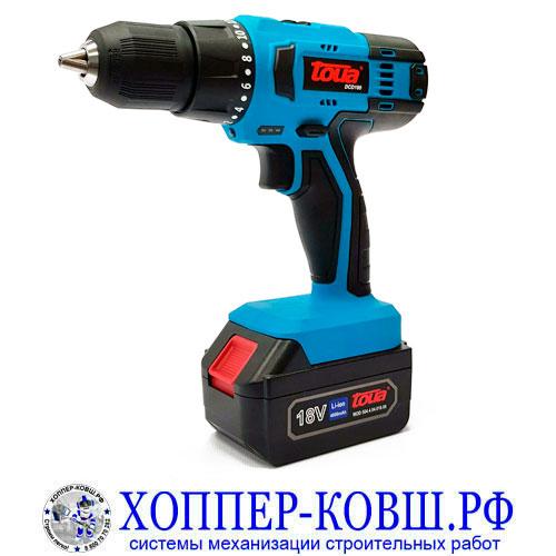 Toua DCD180 аккумуляторная дрель-шуруповерт