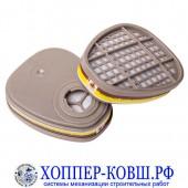 Фильтр для полумаски Jeta Safety 6540 от органических и кислых газов ABEK1