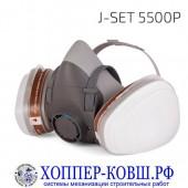Комплект для защиты дыхания Jeta Safety J-SET 5500P полумаска со сменными фильтрами