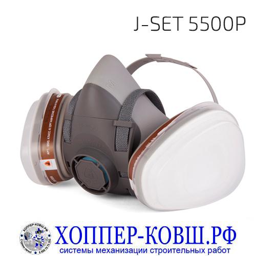 Jeta Safety J-SET 5500P комплект для защиты дыхания полумаска со сменными фильтрами
