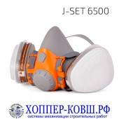 Jeta Safety J-SET 6500 комплект для защиты дыхания полумаска со сменными фильтрами