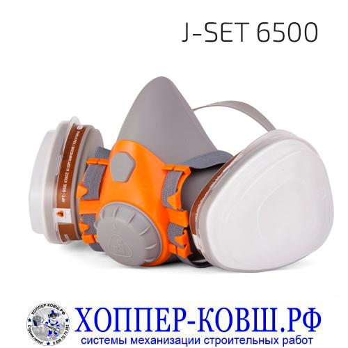 Комплект для защиты дыхания Jeta Safety J-SET 6500 полумаска со сменными фильтрами