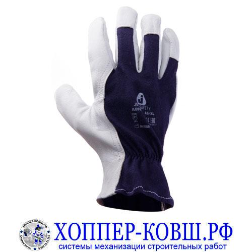 Перчатки монтажные Jeta Safety JLE011 из мягкой и тонкой козьей кожи