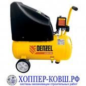 Компрессор безмасляный DENZEL LC 24-195, 1 поршень, 195 л/мин