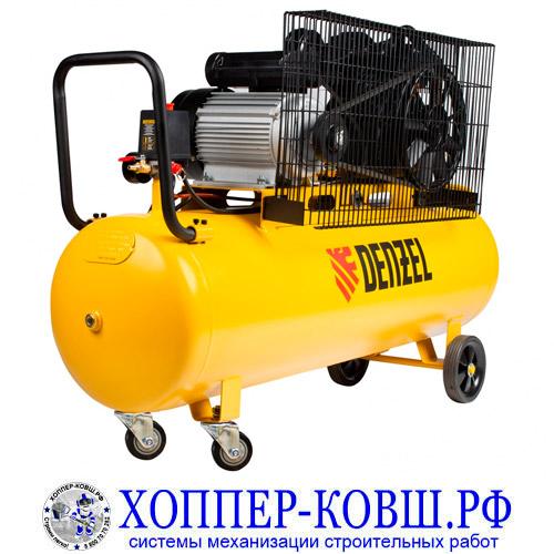 Компрессор DENZEL BCV2300/100,  2,3 кВт, 440 л/мин