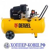Компрессор DENZEL DKV2200/100 Х-PRO 2,2 кВт, 400 л/мин