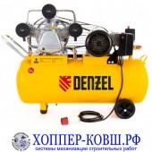 Компрессор DENZEL PC 3/100-504 3 кВт, 504 л/мин 380В