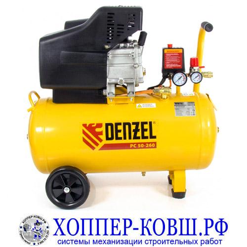 Компрессор DENZEL PC 50-260