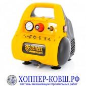 Компрессор безмасляный DENZEL РС 1/6-180 мобильный 180 л/мин