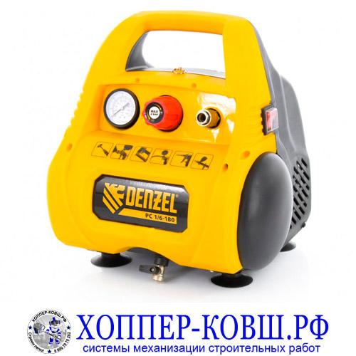 Компрессор воздушный безмасляный DENZEL РС 1/6-180