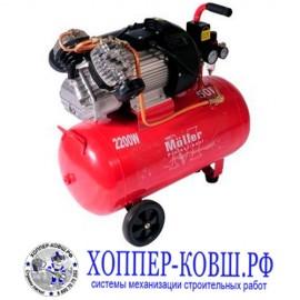 Компрессор Moller AC 490/50 220В 2200Вт, ресивер 50л