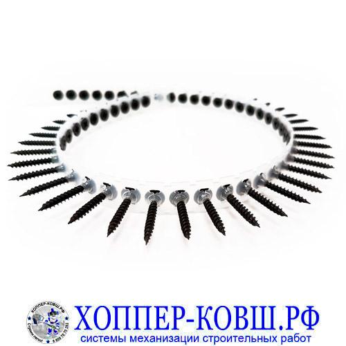 Саморезы в ленте ГКЛ-металлопрофиль 1000 шт.