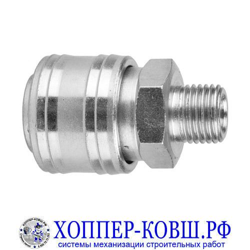 "Фитинг быстросъемный мама M1/4"" тип ЕВРО - RAPID"