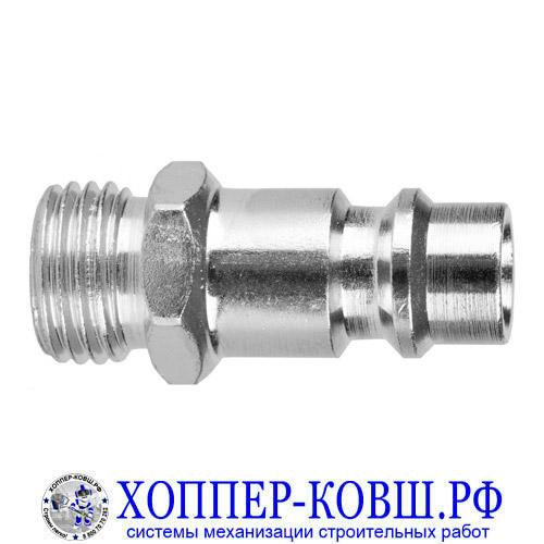 """Штуцер быстросъемный папа M1/4"""" тип ЕВРО - RAPID"""