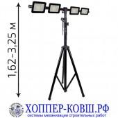 Строительное освещение (штатив + 4 прожектора 30-100 Вт) арт. SL-1