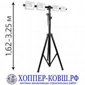 Строительное освещение (штатив + 4 прожектора 70-200 Вт) арт. SL-2