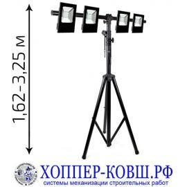 Строительное освещение (штатив + 4 прожектора 30-50 Вт) комплект SL-3