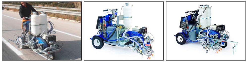 Graco LineLazer V 250mma 98:2 PBS машина для нанесения дорожной разметки, купить,