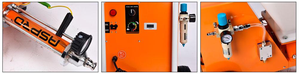 Шпаклёвочная станция ASPRO-N5 купить, цена, отзывы, характеристики | ХОППЕР-КОВШ.РФ, Москва, Волоколамское шоссе, 103 тел. 8 (495) 908-52-03