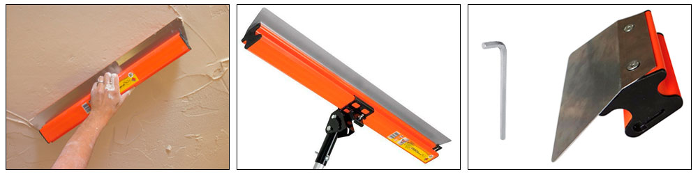 Шпатель Mondelin Ergolame Lissage 600 мм со сменным лезвием 0,6 мм купить, цена, фото, отзывы, технические характеристики | ХОППЕР-КОВШ.РФ - Волоколамское шоссе, 103, 8 800 707 02 82